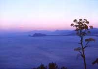 Capo zafferano vista da monte pellegrino  - Solunto (9424 clic)