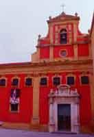 Chiesa di Santa Croce (detta della Badia) al termine di Corso Vittorio Emanuele  - Caltanissetta (3569 clic)