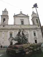 Cattedrale e fontana del Tritone  - Caltanissetta (3567 clic)