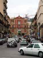 Corso Umberto e Chiesa di Sant'Agata al Collegio  - Caltanissetta (5385 clic)