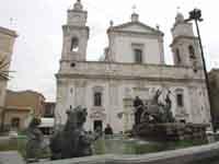 Cattedrale e Fontana del Tritone  - Caltanissetta (5315 clic)