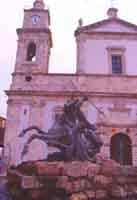 Cattedrale e Fontana del Tritone CALTANISSETTA Giambattista Scivoletto