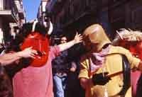 Ballo dei Diavoli - Abballu ri li riavuli a Prizzi - Domenica di Pasqua  - Prizzi (4229 clic)