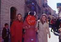 Ballo dei Diavoli - Abballu ri li riavuli a Prizzi - Domenica di Pasqua  - Prizzi (5620 clic)