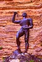 Statua di Euno, schiavo liberato  - Enna (4334 clic)