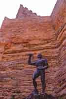 Statua di Euno, schiavo liberato  - Enna (4108 clic)