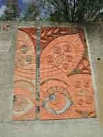 Il Muro di Ceramica (opera di 40 artisti)  - Fiumara d'arte (3436 clic)