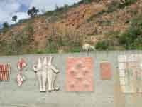 Il Muro di Ceramica (opera di 40 artisti)  - Fiumara d'arte (3714 clic)