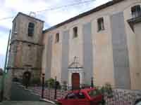 Chiesa di S. Maria La Porta, facciata centrale  - Geraci siculo (5250 clic)