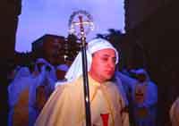 Gli Incappucciati - domenica di Pasqua ad Enna ENNA Giambattista Scivoletto