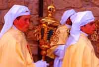Gli Incappucciati - domenica di Pasqua ad Enna  - Enna (2186 clic)