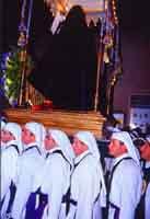Gli Incappucciati - domenica di Pasqua ad Enna  - Enna (2193 clic)
