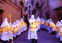Gli Incappucciati - domenica di Pasqua ad Enna  - Enna (3819 clic)