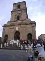 Gli Incappucciati - domenica di Pasqua ad Enna  - Enna (1682 clic)