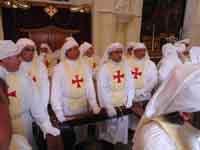 Gli Incappucciati - domenica di Pasqua ad Enna  - Enna (2178 clic)