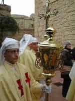 Gli Incappucciati - domenica di Pasqua ad Enna  - Enna (2207 clic)