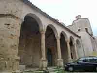 Il portico della Chiesa Madre  - Polizzi generosa (4522 clic)