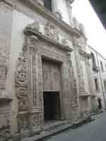 PORTALE DELLA CHIESA DI SAN GIROLAMO  - Polizzi generosa (5436 clic)