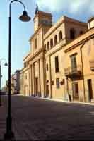 Menfi - via della vittoria - Chiesa del Collegio MENFI Marcello Paternostro