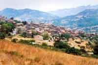 Bisacquino - Scorcio panoramico -castello patellaro  - Bisacquino (6035 clic)