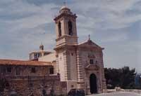 Santuario di Gulfi dove ogni anno si festeggia MARIA SANTISSIMA DI GULFI  - Chiaramonte gulfi (5367 clic)