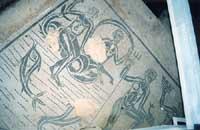 Mosaico Pavimentale della terma romana dianae fons nei pressi di Piazza Fonte Diana  - Comiso (5998 clic)