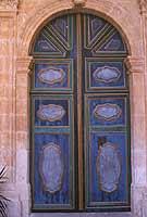 Santuario della Madonna delle Milizie - portale  - Donnalucata (2510 clic)
