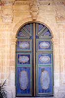 Santuario della Madonna delle Milizie - portale  - Donnalucata (2735 clic)