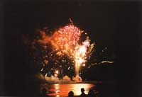 Addio all'estate - fuochi artificiali  - Marina di ragusa (5985 clic)