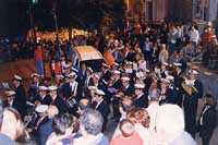 Festa dell'Addolorata - Processione - Banda musicale  - Modica (6731 clic)