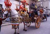 Festa di San Vincenzo ad Acate - carretto siciliano  - Acate (8285 clic)