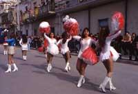 Festa di San Vincenzo ad Acate - majorettes  - Acate (9007 clic)