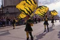 Festa di San Vincenzo ad Acate - sbandieratori  - Acate (5617 clic)