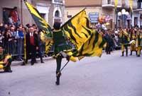 Festa di San Vincenzo ad Acate - sbandieratori  - Acate (4764 clic)