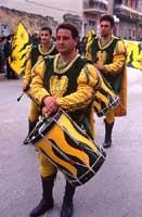 Festa di San Vincenzo ad Acate - sbandieratori  - Acate (5224 clic)