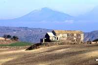 Panorama Ibleo - sullo sfondo l'Etna  - Iblei (6487 clic)