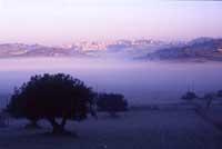 Nebbia sugli Iblei  - Iblei (5000 clic)