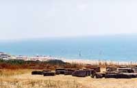 Camarina - sullo sfondo la spiaggia del CLUB MED Kamarina  - Camarina (27884 clic)
