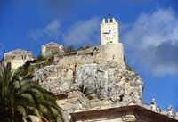 Castello dei Conti - Torre dell'orologio  - Modica (6000 clic)