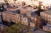 Vista sulla Chiesa di Santa Maria del Soccorso con annesso Collegio dei Gesuiti  (Liceo Classico)