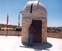 Osservatorio Astronomico di  Monterosso Almo  - Monterosso almo (2002 clic)