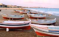 Barche sulla spiaggia  - Pozzallo (11978 clic)