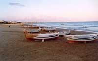 Barche sulla spiaggia  - Pozzallo (3025 clic)