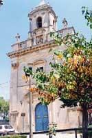 Villa Comunale - Chiesa di San Giacomo  - Ragusa (4401 clic)