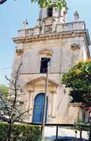 Villa Comunale - Chiesa di San Giacomo RAGUSA Giambattista Scivoletto