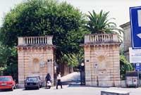 Villa Comunale - Ingresso  - Ragusa (2360 clic)