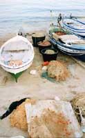 Barche di pescatori a Sampieri  - Sampieri (5055 clic)