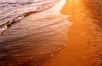 Tramonto sulla spiaggia  - Sampieri (7377 clic)