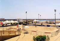 campo da beach volley  - Scoglitti (9085 clic)