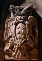 Palazzo Bellomo - stemma del  cortile  - Siracusa (3354 clic)